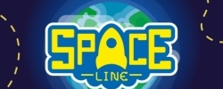 Space Line Poster